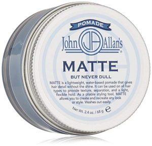Matte Pomade for hair by John Allan's