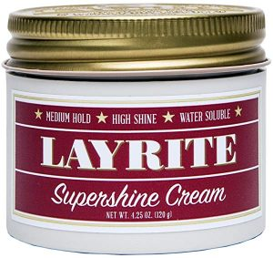 Layrite Supershine for thick hair